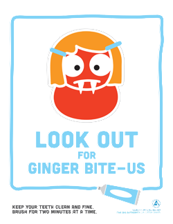 Ginger Bite-Us